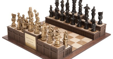 Approach the bench the chess set for lawyers - Chess board display case ...