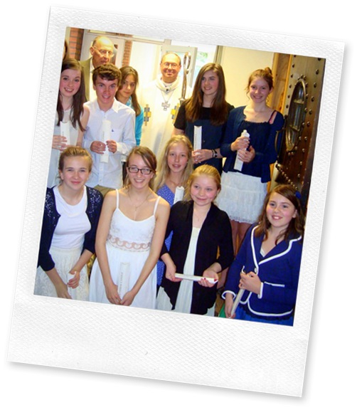St Pauls Camberley Young People Confirmation