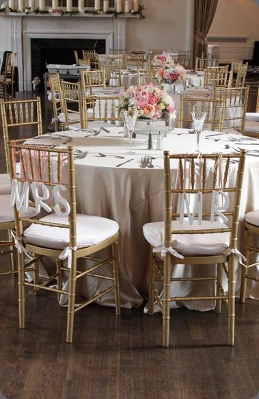 room overview blush floral design