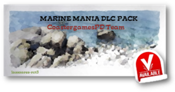 Marine Mania DLC Pack Available (CoastergamesPD Team) lassoares-rct3