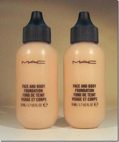 Mac Face & Body N1 N2