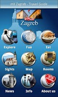 Screenshot of mX Zagreb - Travel Guide