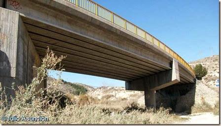 Puente de la carretera - Ruta El Chorrillo
