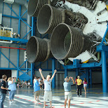 the apollo moon rocket in Cape Canaveral, Florida, United States