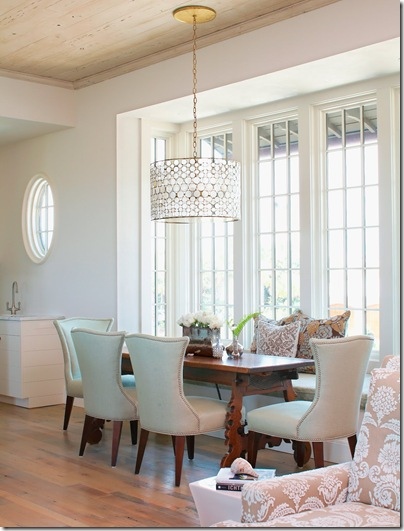 cococozy dining room serena drum chandelier oly tracery