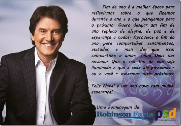 cartao Robinson_Faria