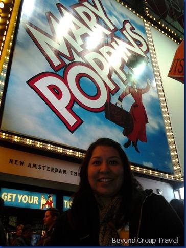 Sandra at Mary Poppins