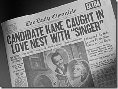 Citizen Kane Scandal Headline