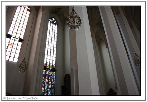 Interior of Munich Frauenkirche