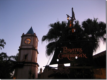 Pirates of the Carribean Clock Tower