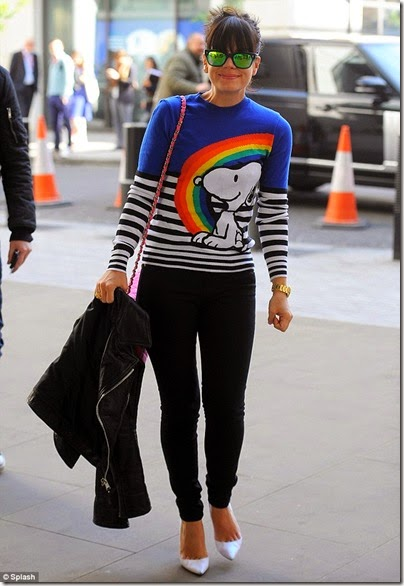 Fay Snoopy Crew-neck Sweater X Lily Allen - 01