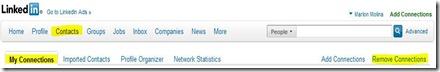 LinkedIn, cómo borrar un contacto