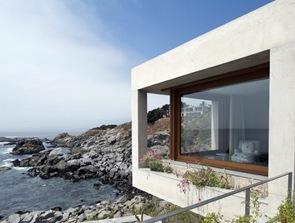 arquitectura y fachada casa en Punta Pite