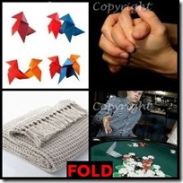FOLD- 4 Pics 1 Word Answers 3 Letters