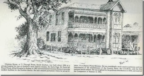 Earle Page's hospital, South Grafton