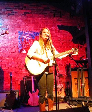 IN PERFORMANCE: Natalie Noone at the Evening Muse in Charlotte, NC, 24 July 2014 [Photo by June Newsome; used with permission]