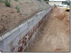 3.- Procedimientos de construcción para una estructura de contención