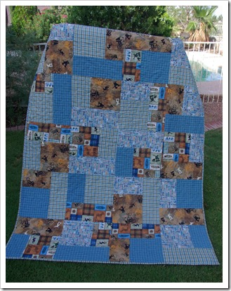 skateboarding mountain biking quilt