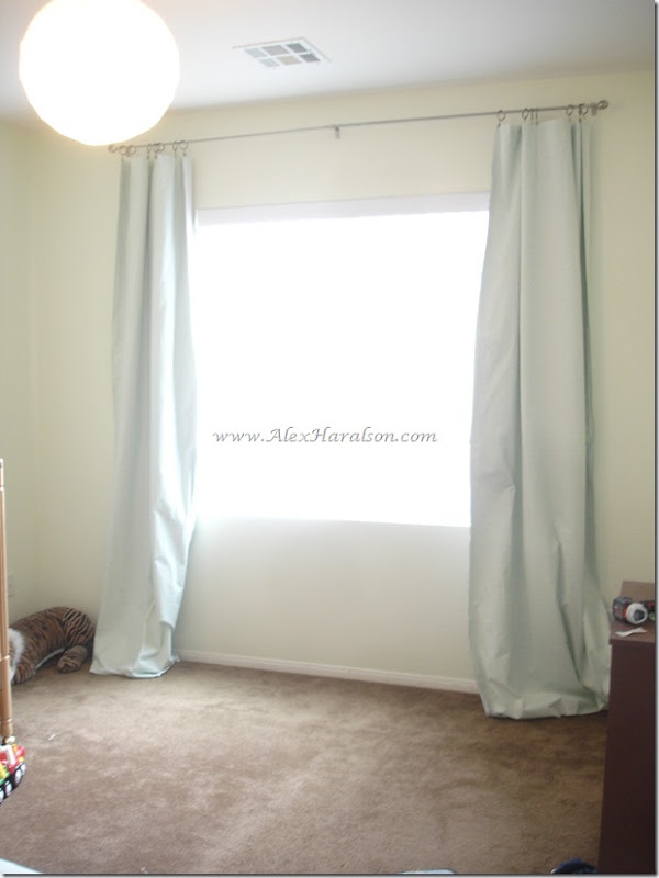 DIY Lined Curtains from a thrifted Sheet9