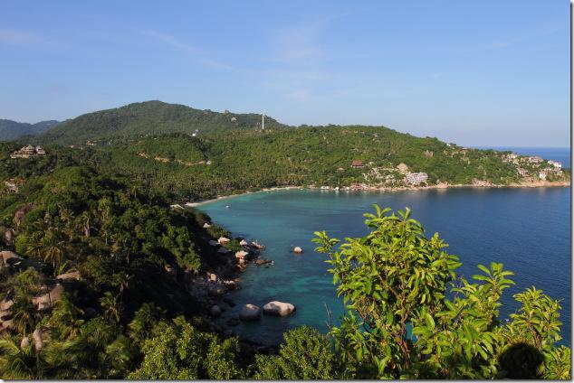 Thian Og Bay from John Suwan Viewpoint, Koh Tao