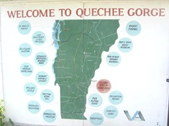 8.8.11 VT Quechee Gorge sign