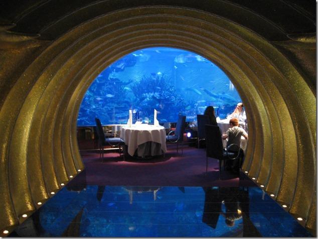 UAE-AlMahara - Burj Al Arab Restaurant