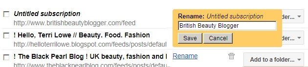 04 -google reader how to fix untitled subscriptions