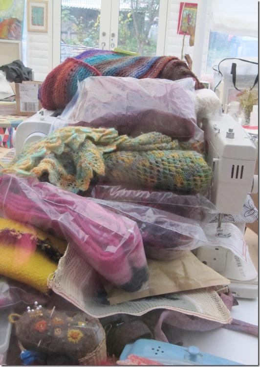 strikkesager til Løvskal
