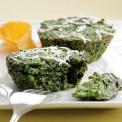 Parmesan Spinach Cake