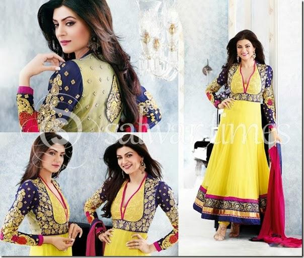 Sushmita_Sen_Yellow_Salwar_Kameez