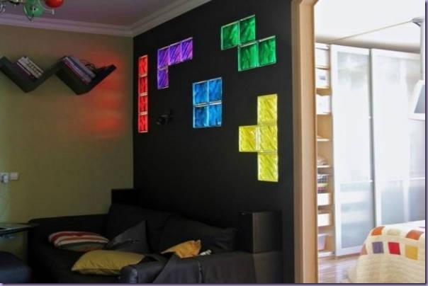 Decoração-Parede-Bloco-Vidro-Tetris-Colorido