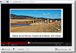 video puentes extremadura