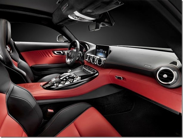 Mercedes mostra o interior do AMG GT