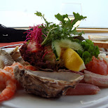 delicious fish dish in Oud-IJmuiden, Noord Holland, Netherlands