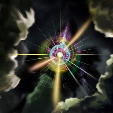 ilustração de um monopolo magnético sintético