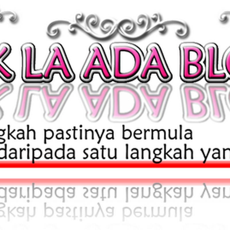 Dalam diam diam , blog wife lagi naik dari blog aku ??