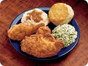 KFC plate