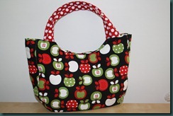 black market apple bag