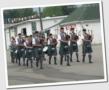 Great Lake Pipe Band, Cleveland Irish Cultural Festival, 2011