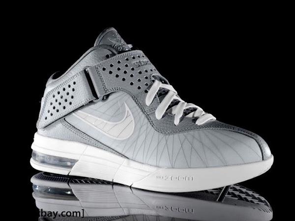Another Look at Nike Air Max Soldier V in Cool Grey amp White
