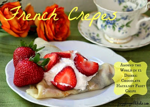 French Crepes from Juggling With Kids