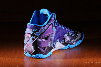 nike lebron 11 gr summit lake hornets 8 04 Release Reminder: LeBron 11 Hornets Buzz In Tomorrow