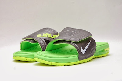 nike air lebron slide 3 volt 1 03 Air LeBron Slide 3 Elite Uses a Classic Dunkman Look
