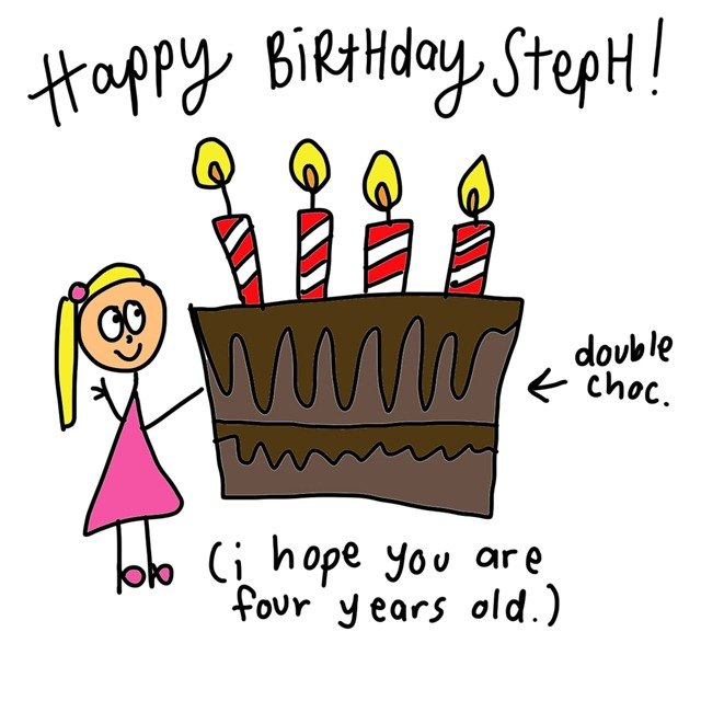 happy birthday steph
