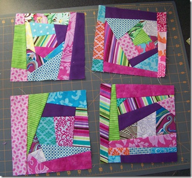 make fabric blocks