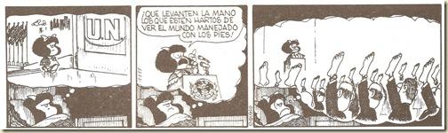 Mafalda...Quelevantenlamanolosqueest