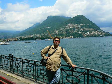 Imagini Elvetia: pe malul lacului Lugano