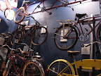 The Little Congress Bicycle Museum full of bicycle history