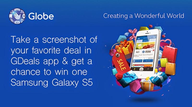 Globe GDeals promo banner