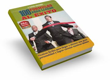 100 FÓRMULAS PARA LLEGAR AL ÉXITO, P. Eliecer Salesman [ Libro ] – Un manual con técnicas fáciles para ser felices y